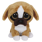 Peluche Beanie Boo's Small Brutus le Boxer