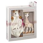 Coffret cadeau Sophie la Girafe avec doudou