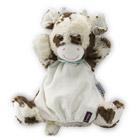 Les amis-Milky vache doudou marionnette 30 cm
