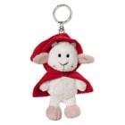 Porte-clés chèvre - Petit chaperon rouge