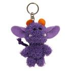Porte-clés monstre violet