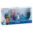 5 Mini figurines La reine des neiges