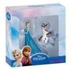Coffret Reine des Neiges 2 figurines Elsa et Olaf