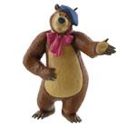 Masha et Michka-Figurine ours Michka peintre