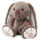 Lapin medium cacao Rouge Kaloo 30 cm
