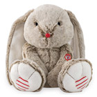 Lapin large sable Rouge Kaloo 40 cm