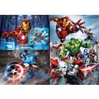 3 puzzles 48 pièces Avengers
