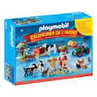 6624-Calendrier de l'Avent Père Noel à la ferme - Playmobil Christmas