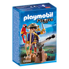 6684-Capitaine pirate avec canon - Playmobil Les pirates