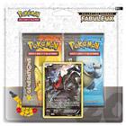 Pack 2 booster avec 1 carte 20 ans Pokemon