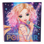 Top model-album popstars- coloriage