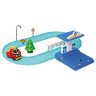 Vehicule Intelligent Roy et sa Station de Recharge Robocar Poli