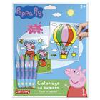 Coloriage au numéro Peppa Pig