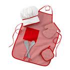 Set Accessoires Cuisine Rouge