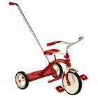 Tricycle Classic Rouge avec Canne