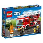 60107-Le camion de pompiers avec échelle