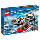 60129-Le bateau de patrouille de la police