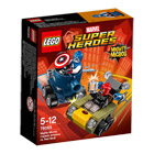 76065-Mighty Micros: Captain America contre Crâne Rouge