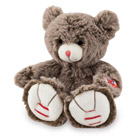 Rouge Kaloo-Peluche petit ours cacao 19 cm