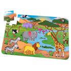 Puzzle de sol safari 24 pièces