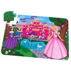 Puzzle de sol château de princesse