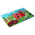 Puzzle de sol à la ferme