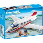 6081-Avion Avec Pilote Et Touristes