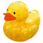 Crystal puzzle canard jaune
