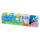 Pots de pâte à modeler avec Figurine Peppa Pig