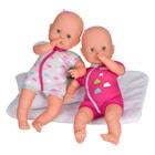 Poupées Nenuco Soft les jumeaux