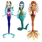 Monster High Goule Poisson phosphorescente