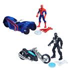 Figurine Spiderman Webcity et son véhicule