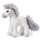 Peluche Cheval Miracle Blanc 25 cm