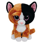 Peluche Beanie Boo's Medium Tauri le Chat