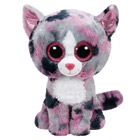 Peluche Beanie Boo's Medium Lindi le Chat