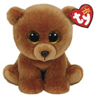 Peluche Beanie Boo's Small Brownie L'ours