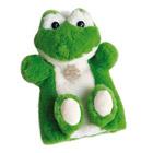 Peluche marionnette Grenouille 25 cm