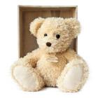 Peluche ours chiné beige 22 cm