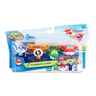 4 Figurines Super Wings 6 cm