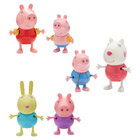 Figurines Peppa Pig en Vacances