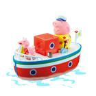 Le bateau de Papy avec 3 figurines Peppa Pig