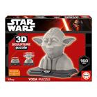 3D sculpture puzzle Yoda