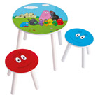 Table et Tabourets Barbapapa