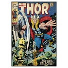 Sticker repositionnable Thor