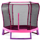 Trampoline Junior Rose avec Filet 2m20