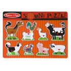 Puzzle son 8 pièces animaux de la ferme