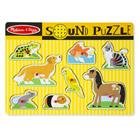 Puzzle son 8 pièces animaux