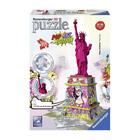Puzzle 3d statue de la liberté popart