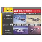 Coffret 4 maquettes 100 ans Dassault aviation