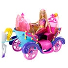 Barbie carrosse arc-en-ciel